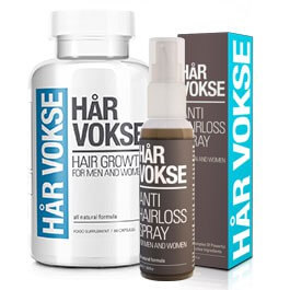 Har Vokse: Best Hair Growth Spray & Anti-Balding Komplettera!